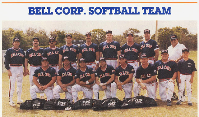1991 Bell Corp Team Picture